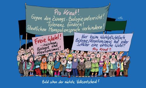 """Plakat Volksentscheid: Nein zu """"Pro Reli"""""""