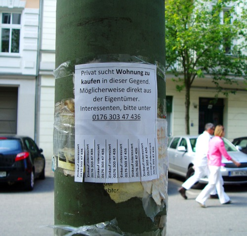 Wohnungssuche 2012 (Christburger Straße, Prenzlauer Berg)