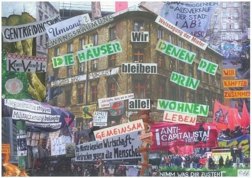 Collage von Henni 16 Jahre, Thema Berlin